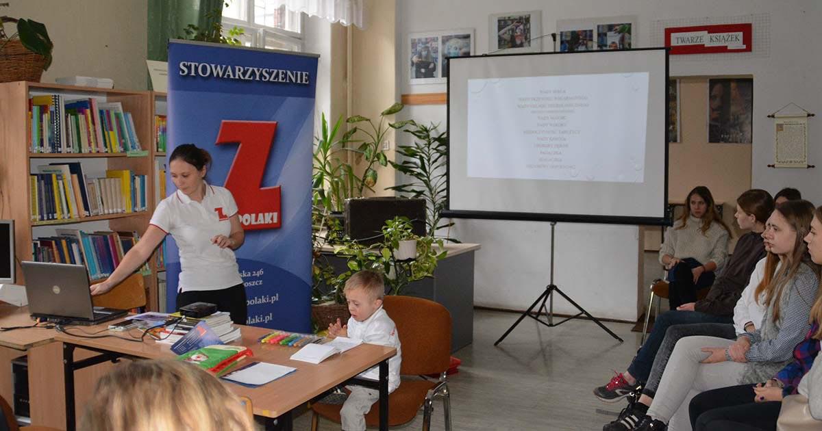 Prelekcja w ZSO nr 1 w Bydgoszczy