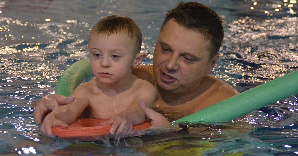 """Zajęcia z projektu """"Aquaterapia – pływanie bez barier"""""""