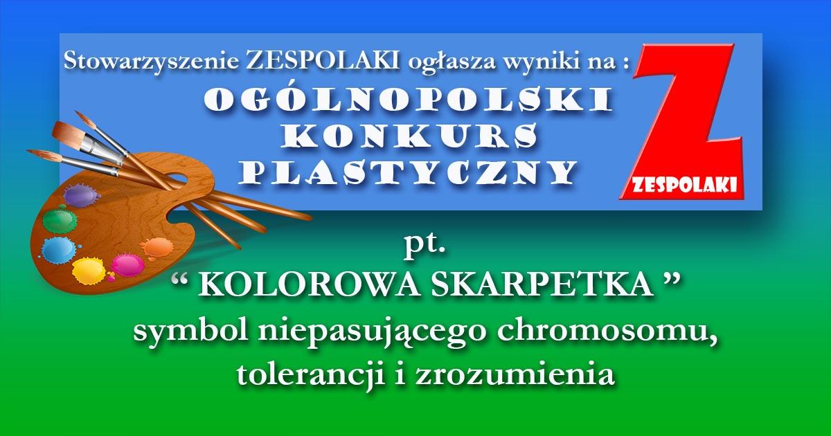 Laureaci Ogólnopolskiego Konkursu Plastycznego