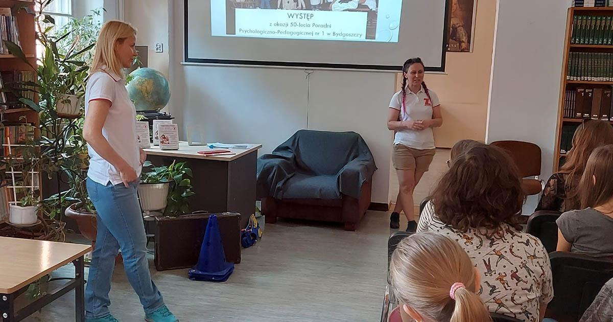 Prelekcja w I LO w Bydgoszczy